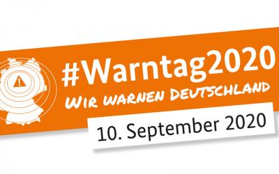 Bundesweiter Warntag 10. September 2020