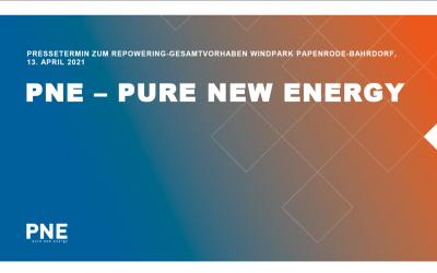 PNE – Windpark Papenrode-Bahrdorf